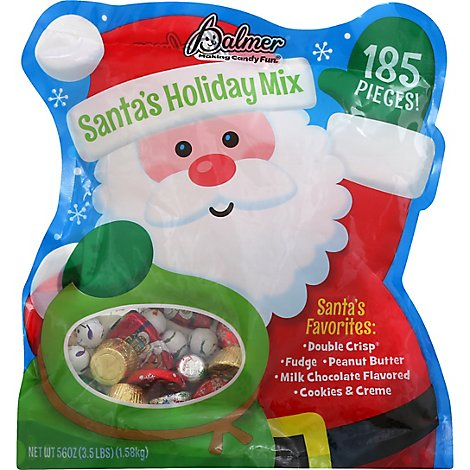 Plmr Santa's Holiday Mix - 56 OZ