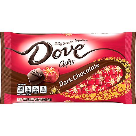 Dove Promises Chocolate Candy Holiday Dark Chocolate - 8.87 Oz