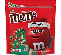 M&Ms Chocolate Candies Chrismas Holiday Milk Chocolate - 38 Oz
