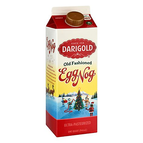 Darigold Egg Nog Old Fashioned Quart Ultra-pasteurized - 32 FZ