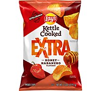 Lays Kettle Cooked Potato Chips Honey Habanero - 7.75 OZ