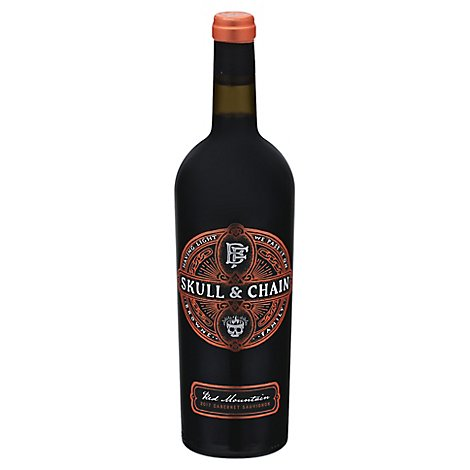 Browne Cab Sauv Skull And Chain Wine - 750 ML