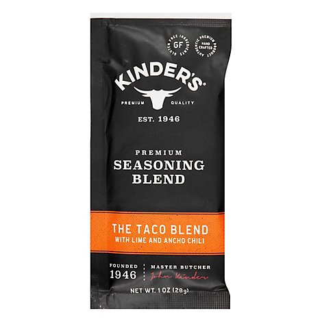 Kinders The Taco Blend Seasoning Blend - 1 OZ