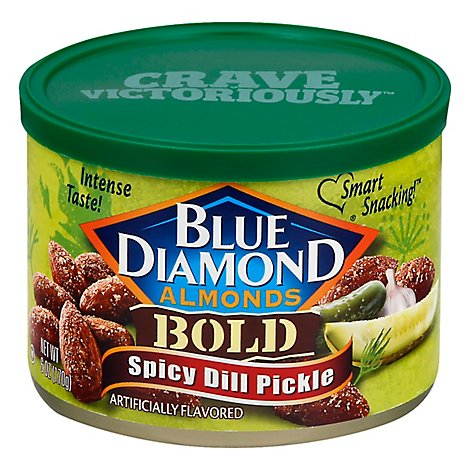 Blue Diamond Bold Spicy Dill Pickle - 6 OZ