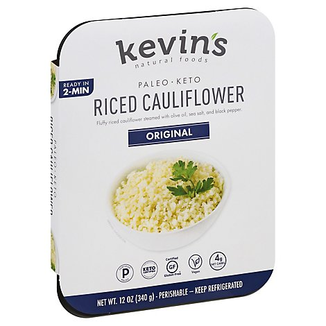 Kevins Natural Foods Riced Cauliflower Stir Fry - 12 Oz.