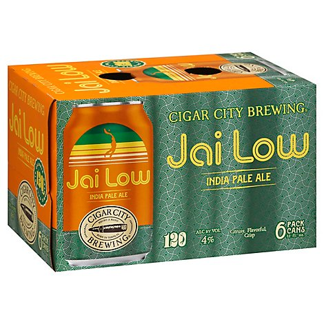 Cigar City Jai Low Calorie Ipa In Cans - 6-12 FZ