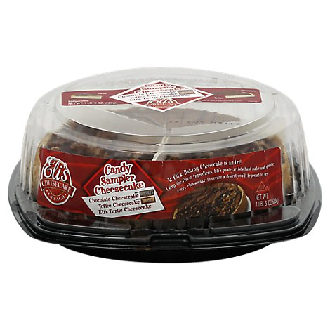 Candy Cheesecake Sampler 7 Inch - 11 LB