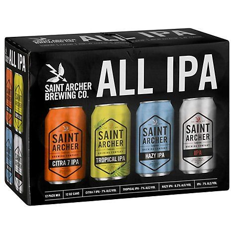 Saint Archer All Ipa Vp In Cans - 12-12 FZ