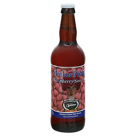 Mother Pucker Raspberry Sour Is A Kettle Sour Ale Brewed With A In Bottles - 16.9 FZ