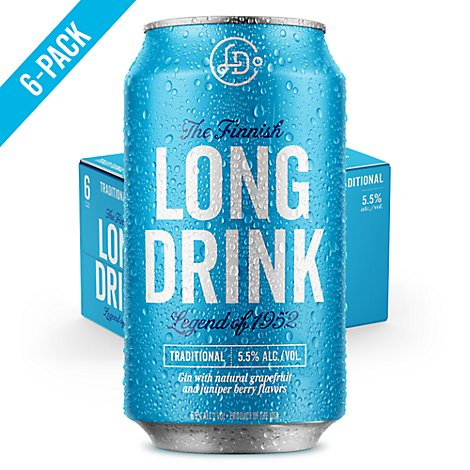Long Drink Cocktail Can - 6-12 Fl. Oz.