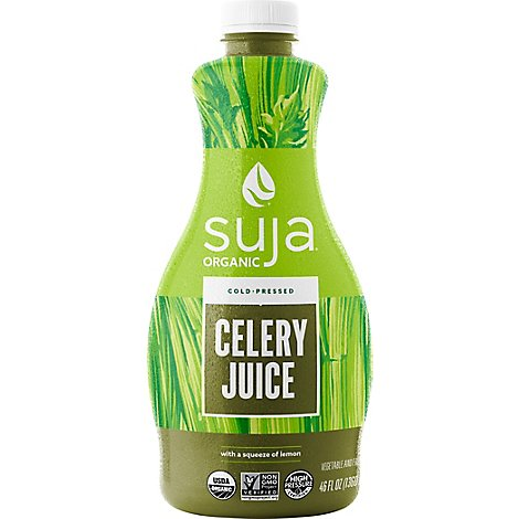 Suja Organic Cold Pressed Celery Juice - 46 Fl. Oz.