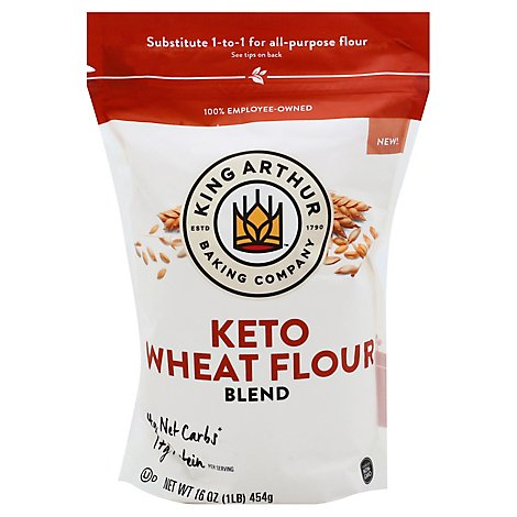King Arthur Keto Wheat Flour Blend - 16 OZ