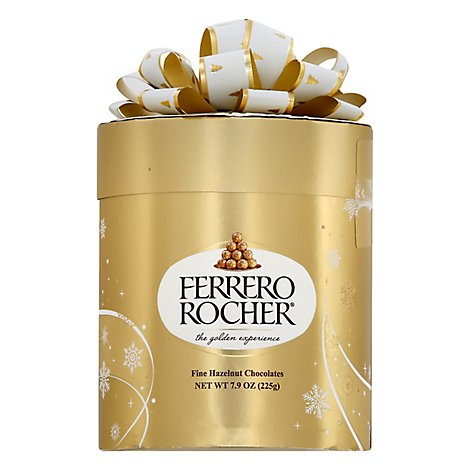 Ferrero Rocher 18pc Cylinder - 7.9 OZ