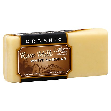 Sierra Nevada Cheddar Grass Fed Raw Milk Organic - 8 OZ