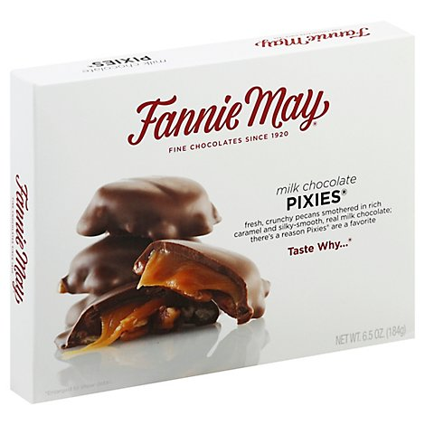 Fannie May Milk Chocolate Pixes - 6.5 OZ