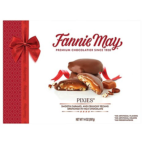 Fannie May Milk Chocolate Pixies - 14 OZ