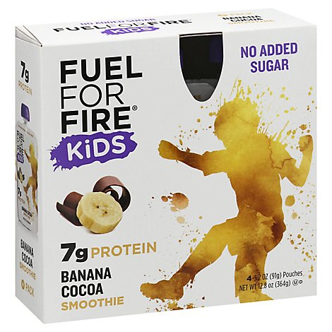 Fuel For Fire Smoothie Kds Ban Ccoa - 12.8 OZ