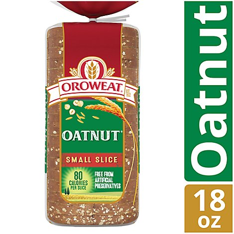 Oroweat Oatnut 18oz Narrow Bread - 18 OZ
