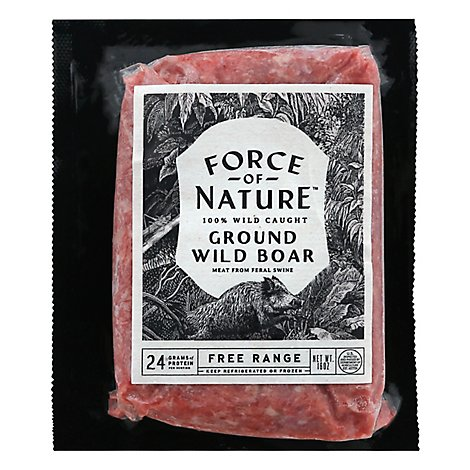 Force Of Nature Boar Grind 100% Wild Caught - 16 OZ