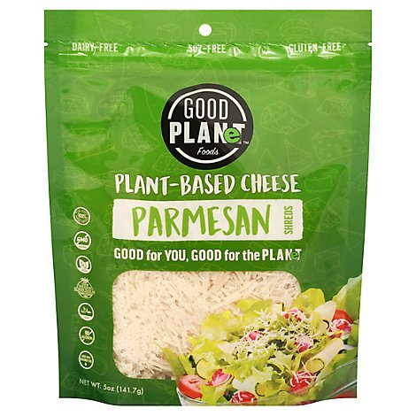 Good Planet Parmesan Shreds - 7 OZ