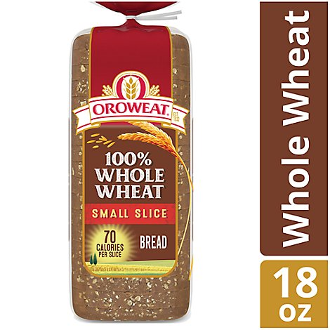 Oroweat 100%ww 18oz Narrow Bread - 18 OZ