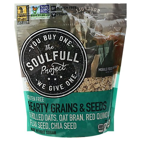Soulful Cereal Hot Hrty Grains - 14.1 OZ