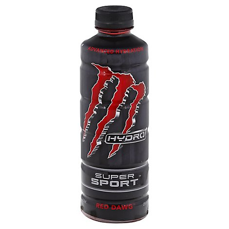 Monster Energy Hydro Super Red Dawg - 25.4 FZ