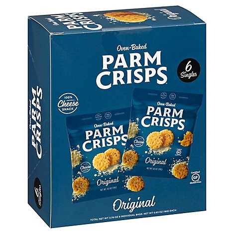 Parm Crisps Original Snack Pack - 3.78 OZ