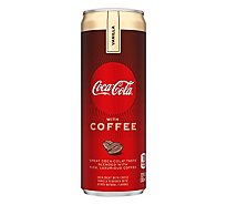 Coca-Cola Soda with Coffee Vanilla Can - 12 Fl. Oz.