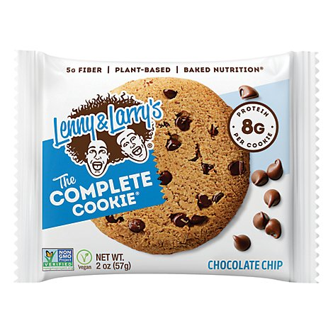 Lenny & Larrys Cookie Chocolate Chip - 2 OZ