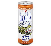Green Dragon 257 Energy Drink Can - 12 FZ
