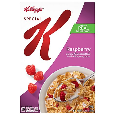 Special K Breakfast Cereal Raspberry - 12.5 Oz