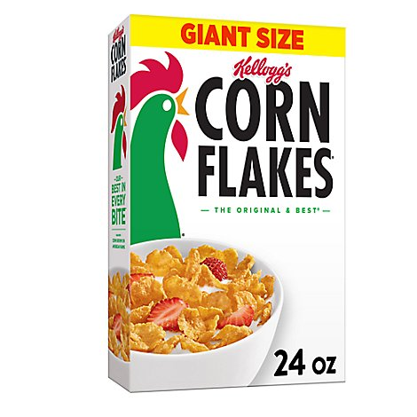 Kelloggs Corn Flakes Cereal - 24 OZ