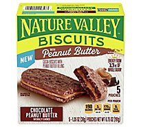 Nature Valley Chocolate Peanut Butter Biscuits - 6.75 OZ