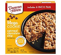 Duncan Hines Oatmeal Choc Chip Cookie Mi - 7.5 OZ