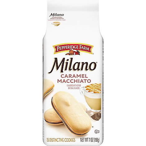 Pepperidge Milano Caramel Macchiato - 7 OZ