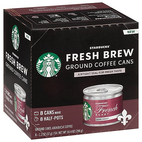 Starbucks Dark French Roast Fresh Brew Coffee - 8 CT