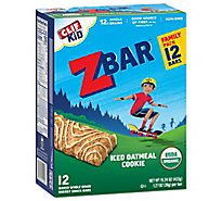 Clif Zbar Iced Oatmeal Cookie - 12 CT
