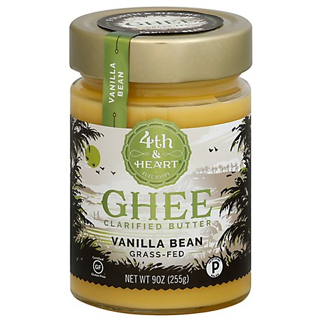4th Heart Ghee Vanilla Bean - 9 OZ