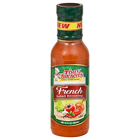 Tonys Chacheres Creole French Dressing - 12 OZ