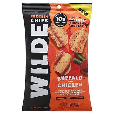 Wilde Snacks Chips Chicken Buffalo - 2.25 OZ