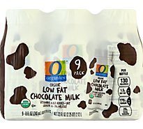 O Organics Milk Aseptic Chocolate Low Fat - 9-8 FZ