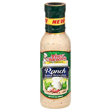 Tonys Chachere's Creole Ranch Dressing - 12 OZ