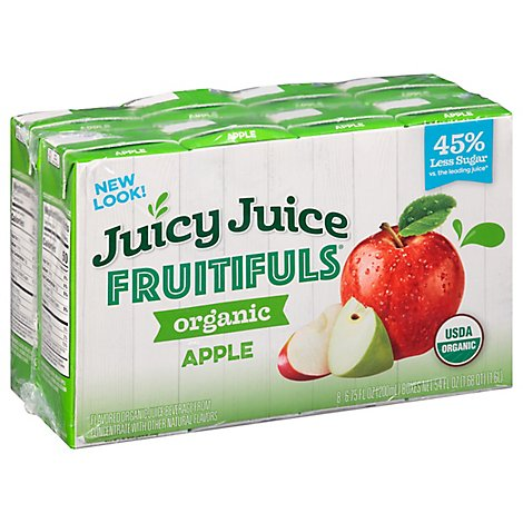 Juicy Juice Fruitfuls Apple Quench - 8-6.75 OZ
