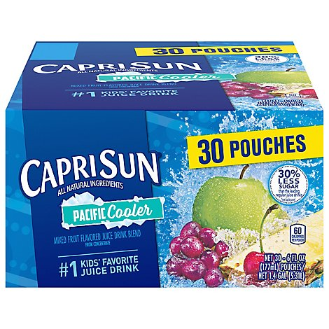 Capri Sun Pacific Cooler Value Pack - 30-6 FZ