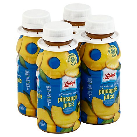 Libby's Pineapple Juice - 4-10 FZ