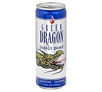 Green Dragon Energy Drink Can - 12 FZ