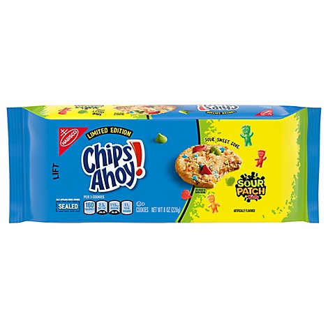 Chips Ahoy Cookies Sour Patch Kids - 8 OZ