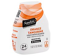 Signature Select Liq Water Enhancer Orange Tangerine - 1.62 FZ
