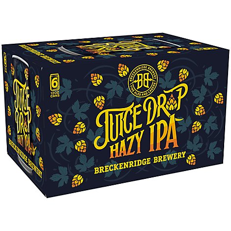 Breckenridge Juice Drop Hazy Ipa - 6-12 FZ